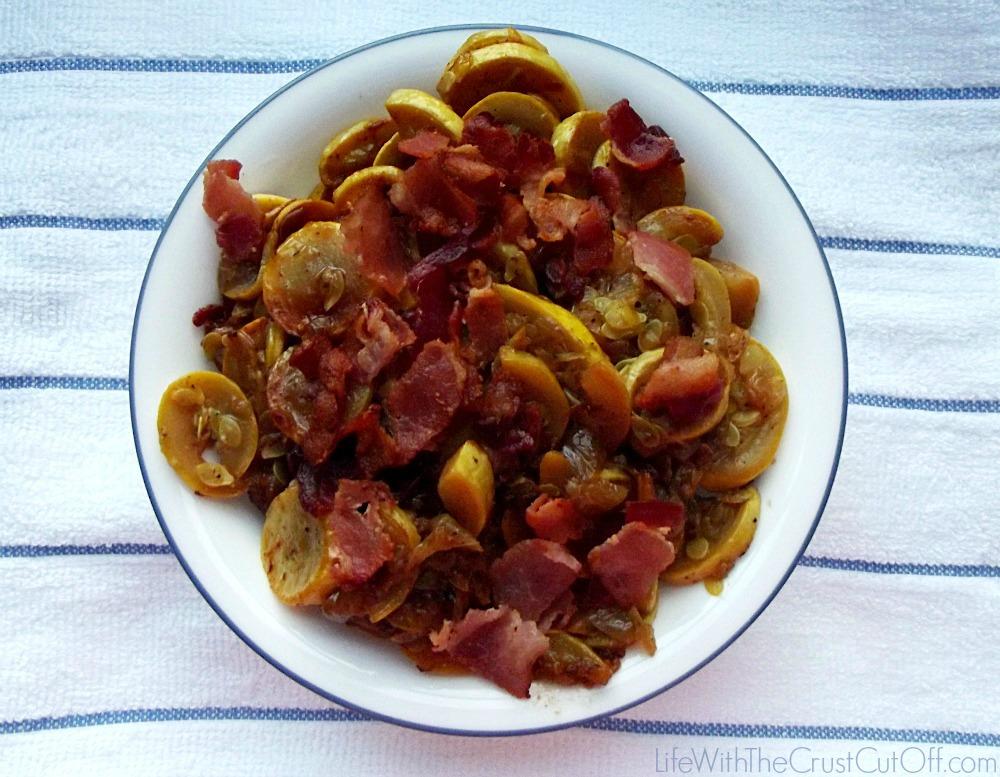 Squash and Bacon Recipe