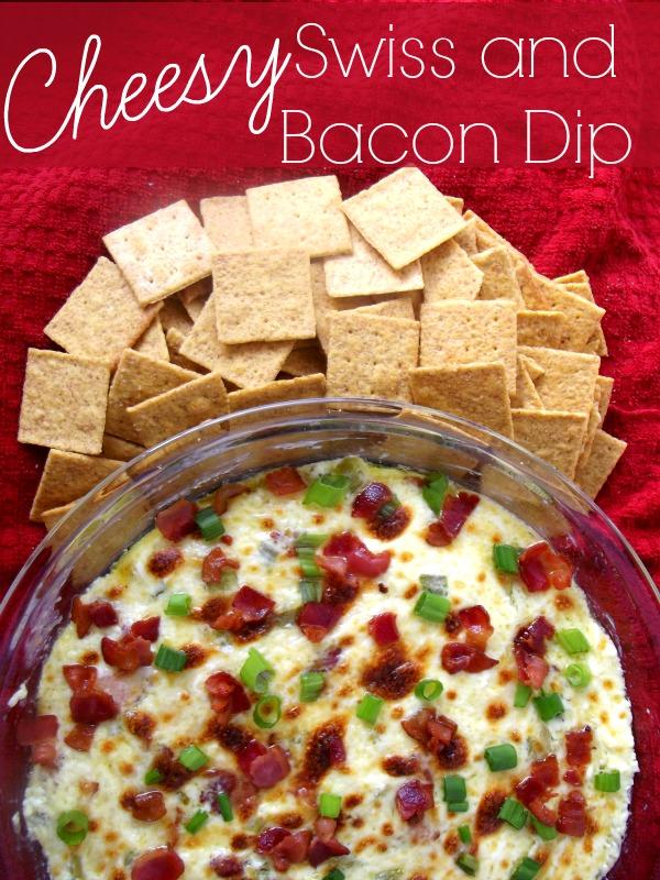 Cheesy Swiss and Bacon Dip