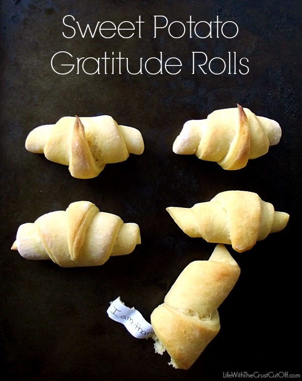 Sweet Potato Gratitude Rolls
