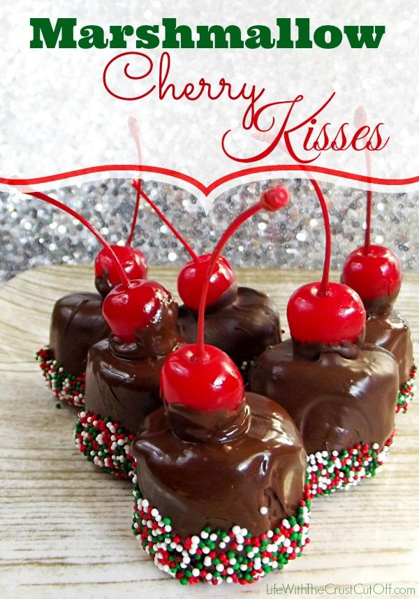 Marshmallow Cherry Kisses