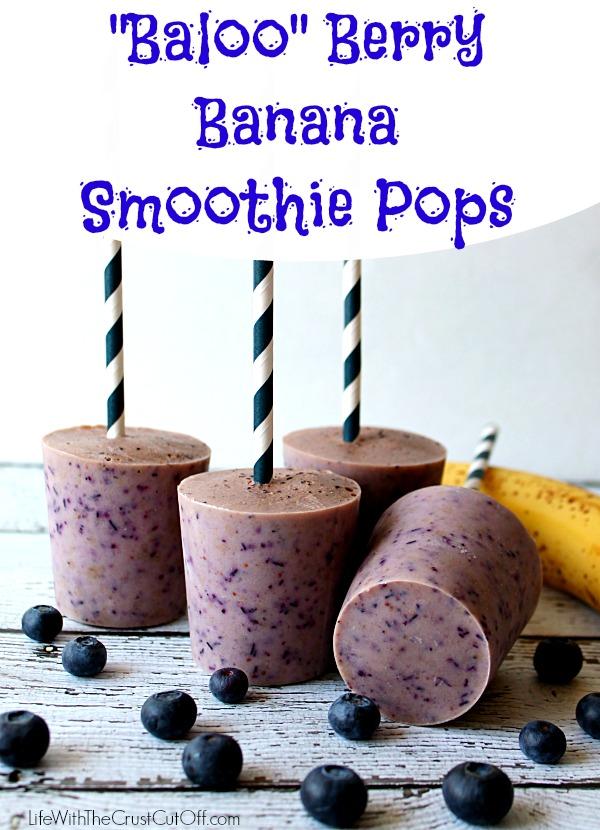 BalooBerry Banana Smoothie Pops #JungleFresh #CollectiveBias shop