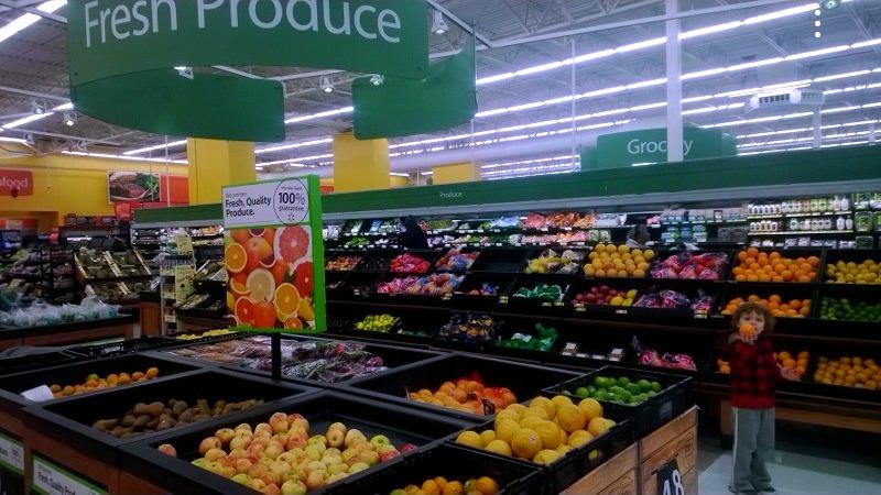 Walmart produce #JungleFresh #CollectiveBias #shop