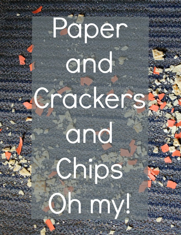 Paper and crackers and chips #EurekaPower #CollectiveBias