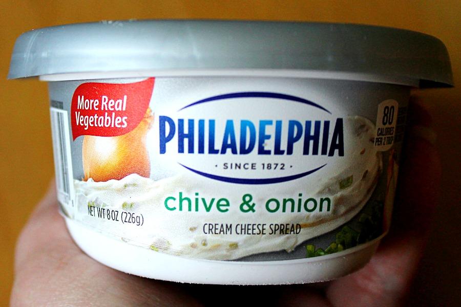 Grab Your Cream Cheese Philadelphia Chive Onion Spreadtheflavor Collectivebias