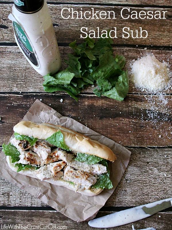 Chicken Caeser Salad Sub