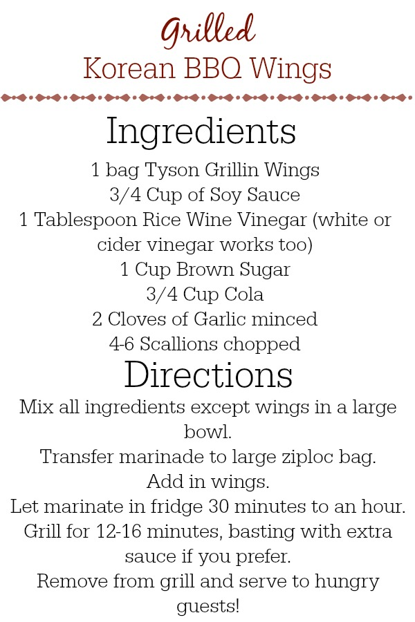 Grilled Korean BBQ Wings Recipe #CollectiveBias #whatsgrillin