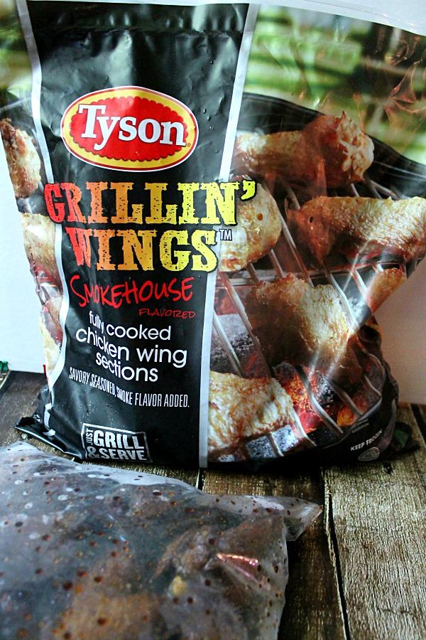 Tyson Grillin Wings #whatsgrillin #CollectiveBias