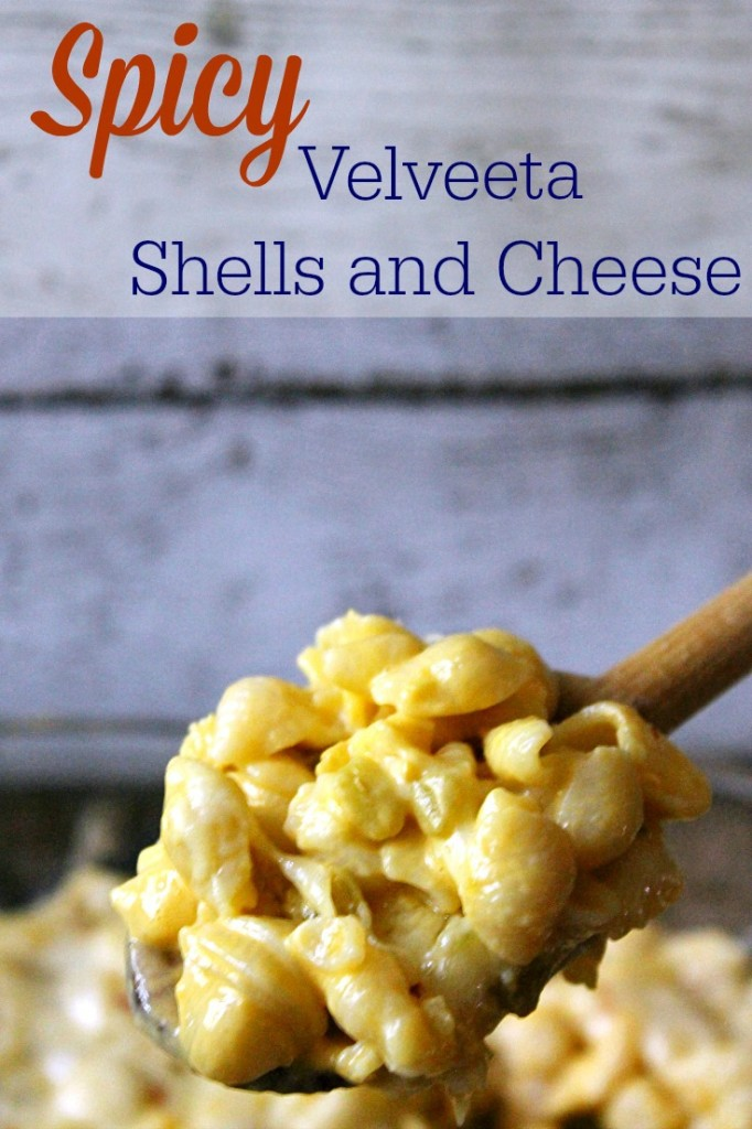 Spicy Velvetta Shells and Cheese #RollIntoSavings #CollectiveBias