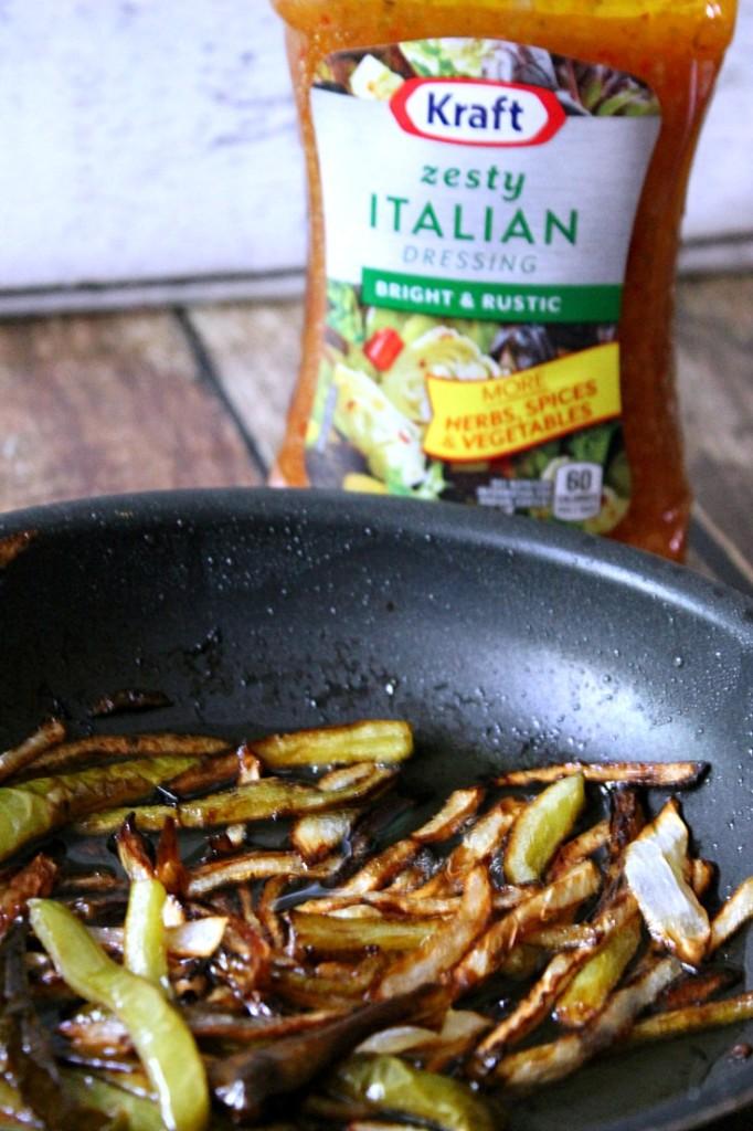 Zesty Italian Onions and #RollIntoSavings #CollectiveBias