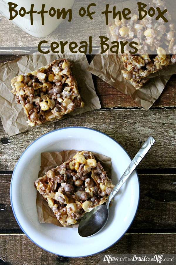 Bottom of the Box Cereal Bars