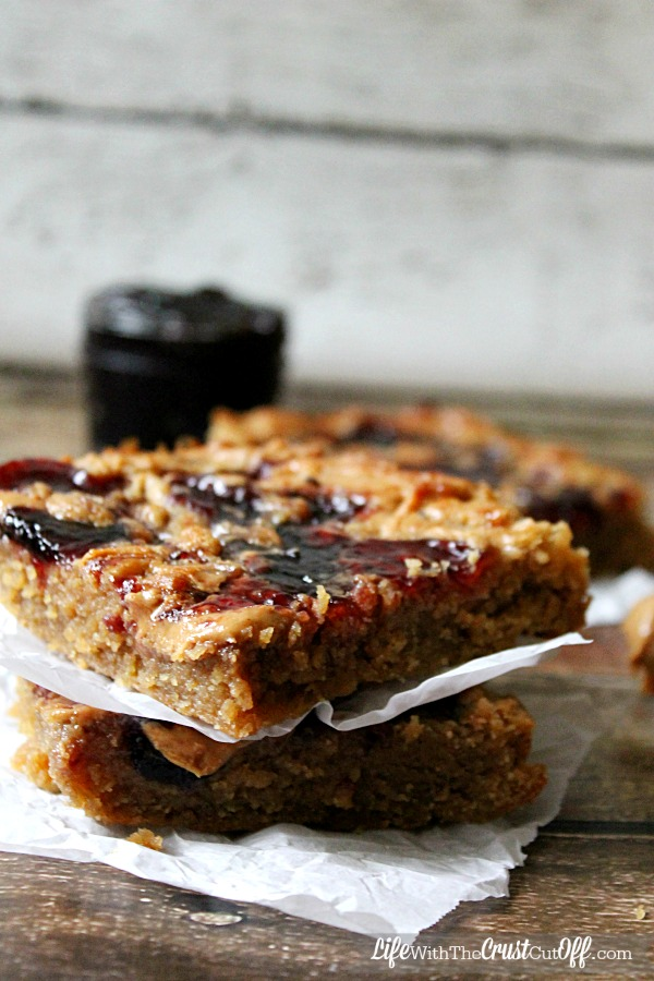 PeanutButter & Jelly Bars