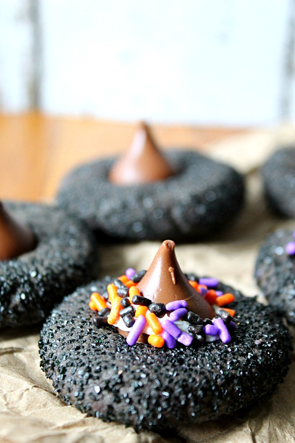 Peanut Butter Witch Hat Cookies