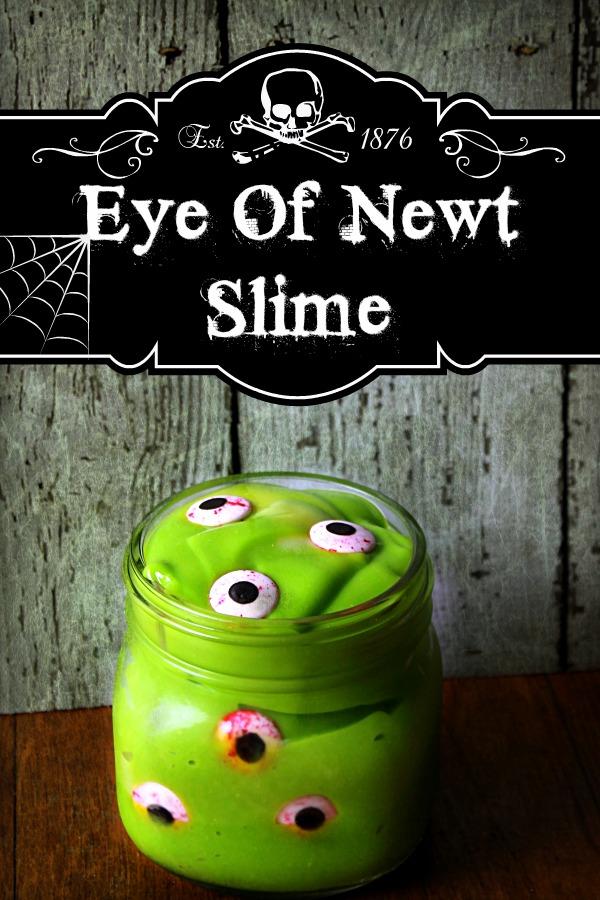 Eye Of Newt Slime #SnackPackMixins #CollectiveBias