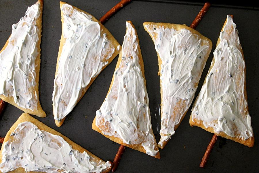 Cream Cheese Trees