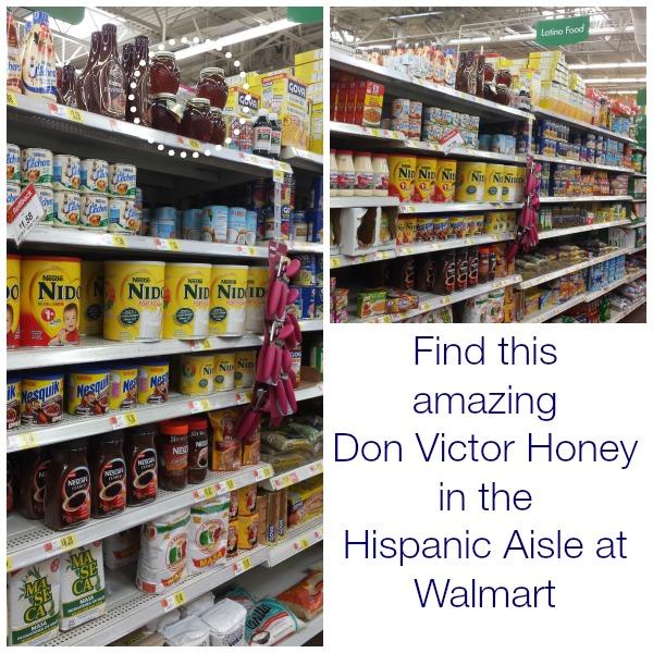 DonVictor Honey in Walmart #HoneyForHolidays #DonVictor #CollectiveBias