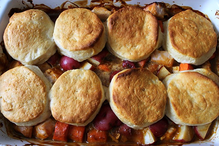 Chicken and Biscuit Stew