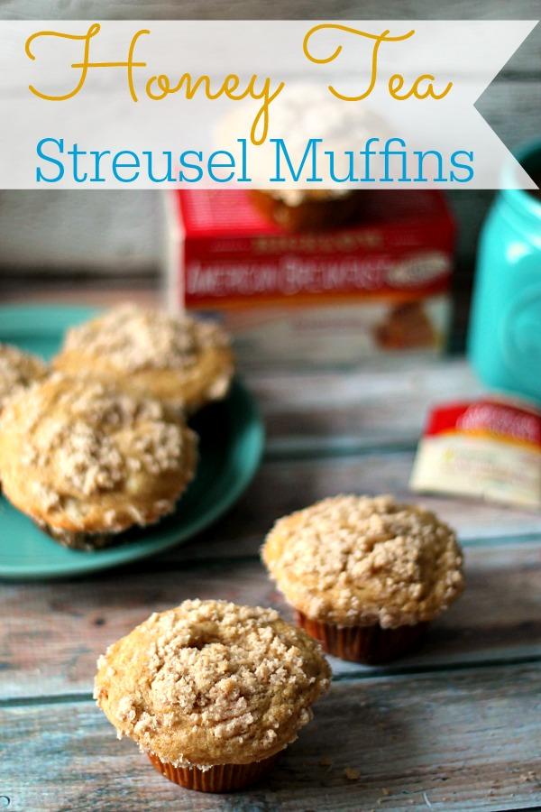 Honey Tea Streusel Muffins #AmericasTea #CollectiveBias