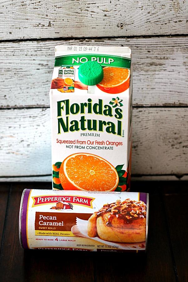 Pepperidge Farm and 100 Florida Orange Juice #WarmUpYourDay #CollectiveBias