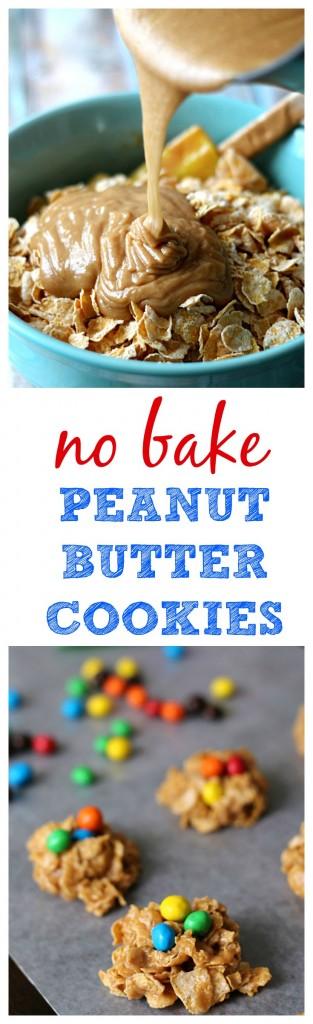 No Bake Peanut Butter Cookies #CrispyIsBack #CollectiveBias