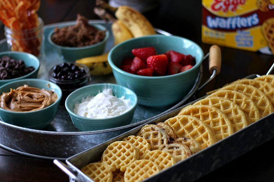 Waffle Bar #EggoWaffleBar #CollectiveBias