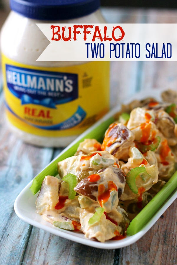 Buffalo 2 Potato Salad, yum!