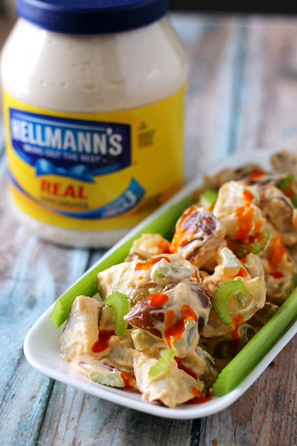 Buffalo 2 Potato Salad