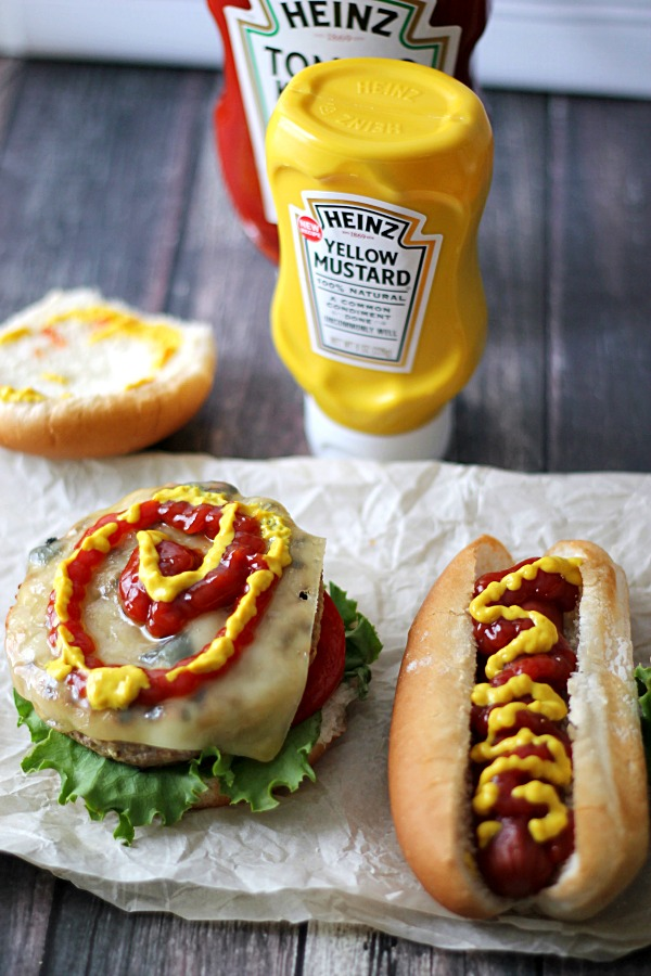 Burger and Dog #KetchupsNewMustard #CollectiveBias