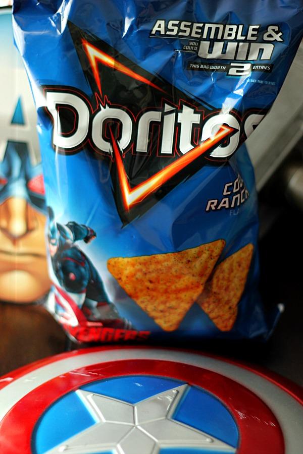 Capt America Doritos  #AvengersUnite #CollectiveBias