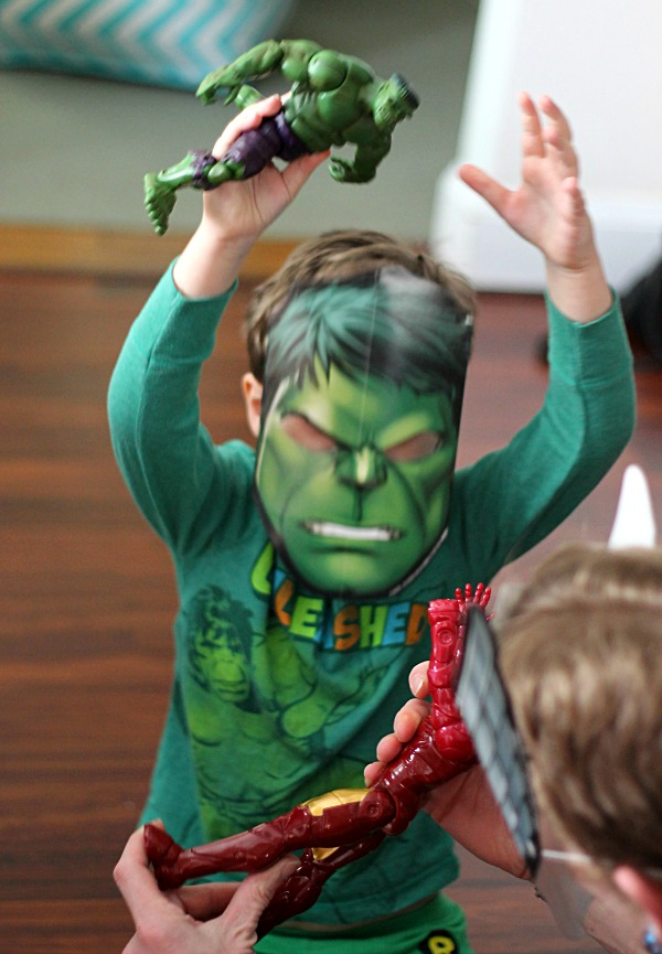Hulk Mask #AvengersUnite #CollectiveBias