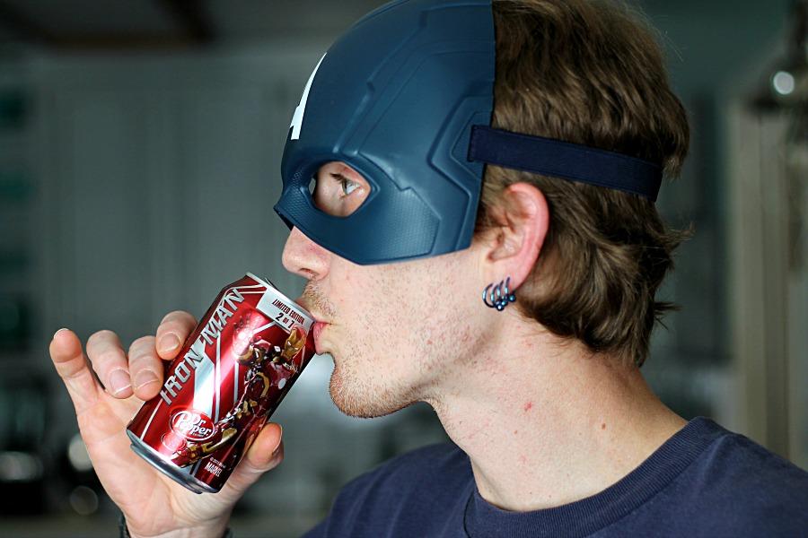 Iron Man Dr. Pepper  #AvengersUnite #CollectiveBias