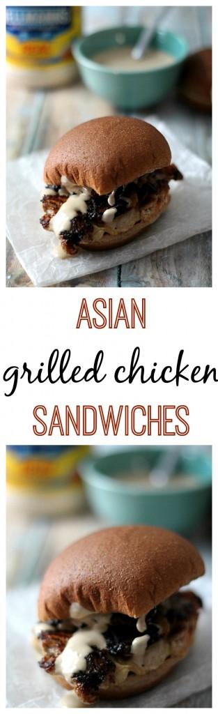 Asian Grilled Chicken Sandwiches, yum!