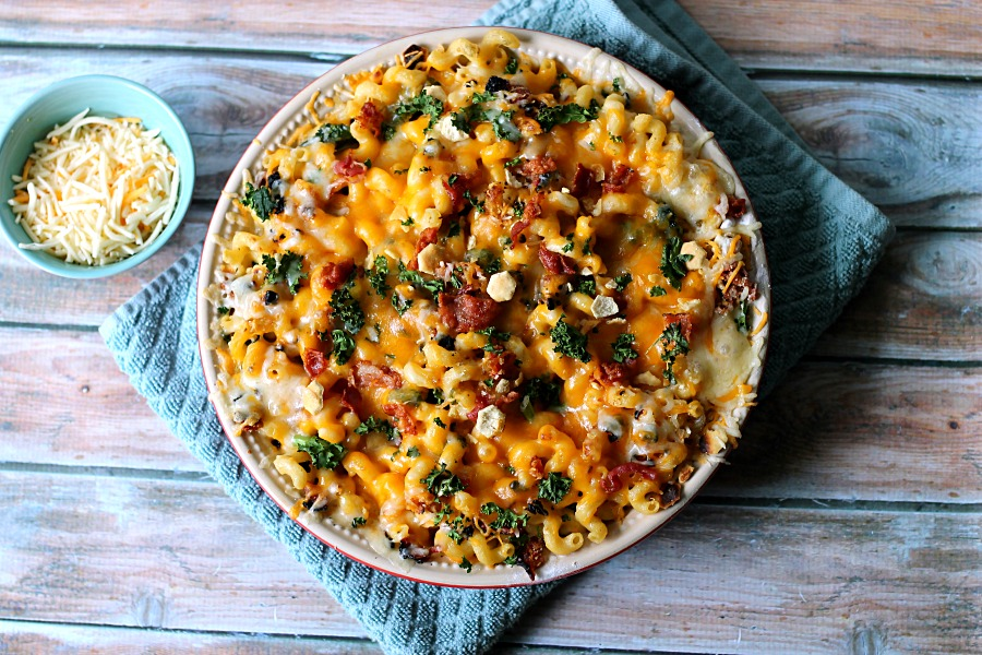 Bacon & Kale Mac and Cheese