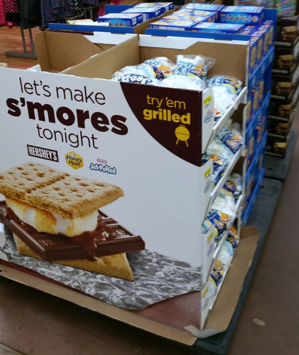 Smores In Walmart #collectivebias #letsmakesmores