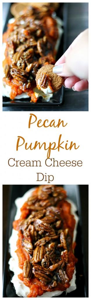 Pecan Pumpkin Cream Cheese Dip