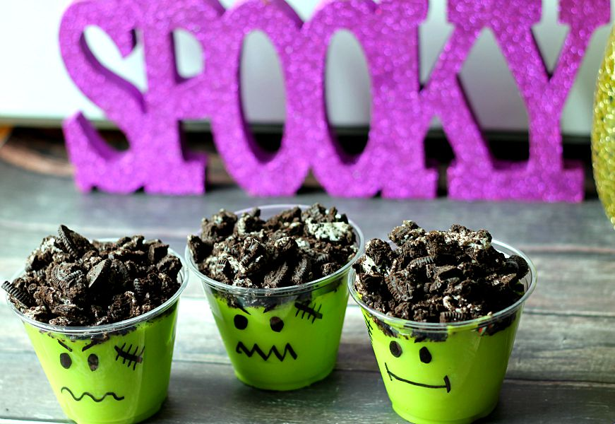 Spooky Monster Cups