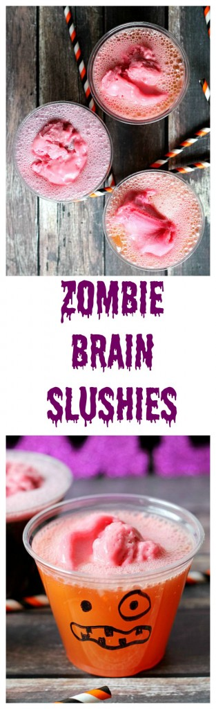 Zombie Brain Slushies, yum!