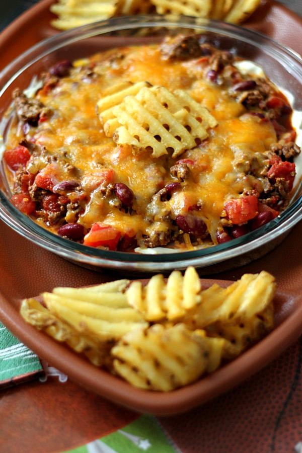 Chili Cheese Dip, yum
