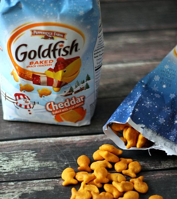 Goldfish crackers, yum!