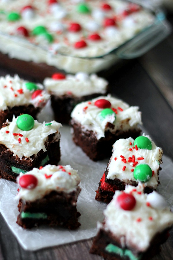 Loaded Christmas Brownies!!!