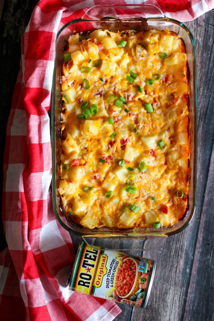 Spicy Cheesy Potatoes