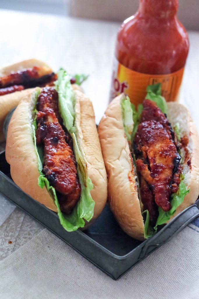 Firecracker Chicken Subs
