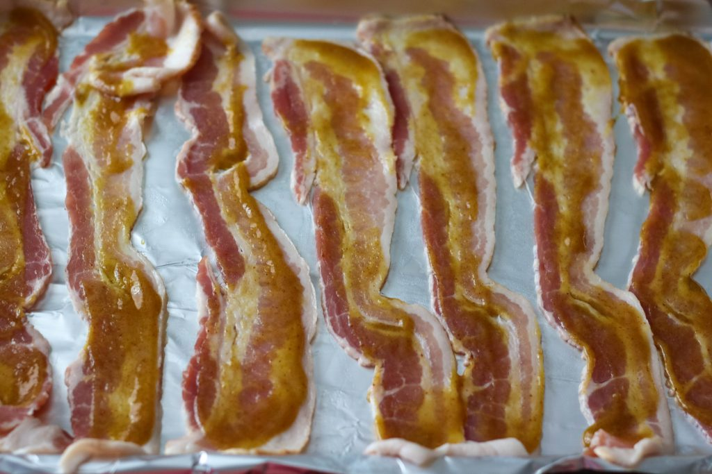 French's Spicy Brown Glazed Bacon