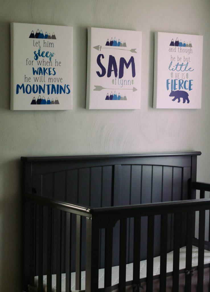 Mountain Nursery Canvases_
