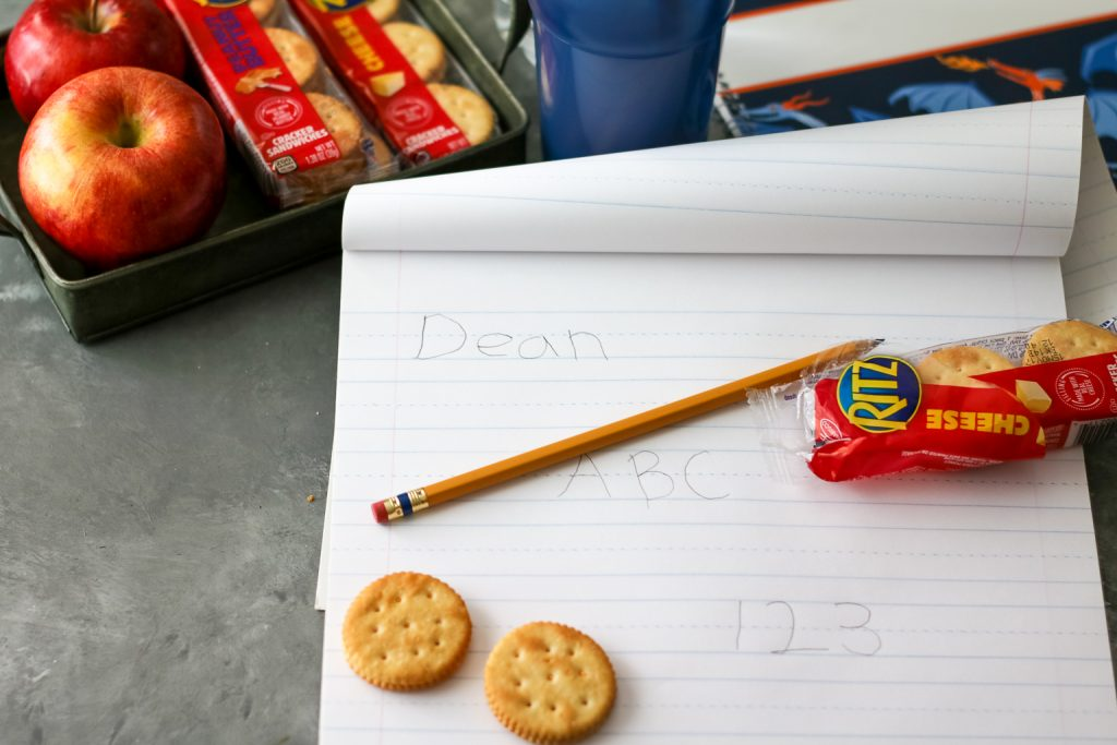 RITZ Sandwich Crackers for back to school (1 of 1)
