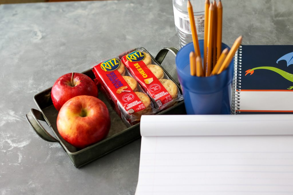 RITZ Sandwich Crackers for homework time (1 of 1)