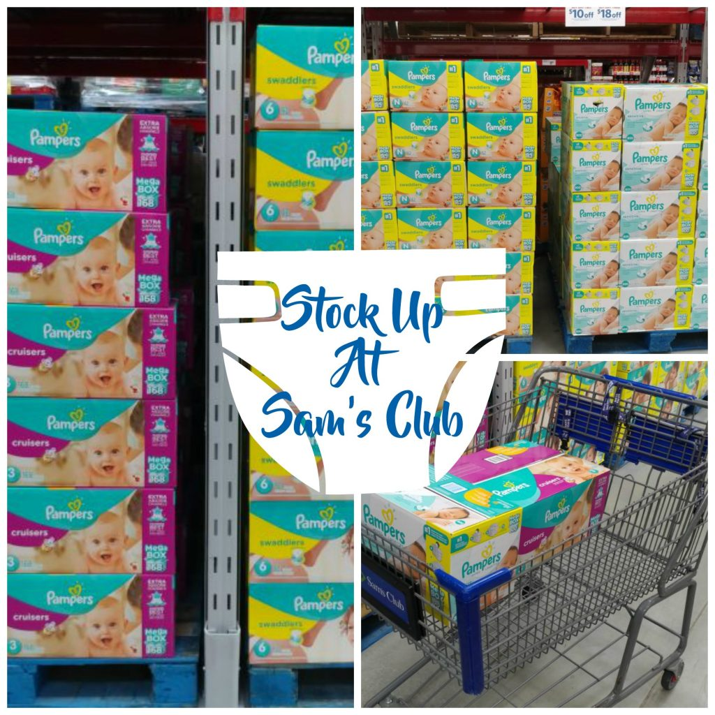 Stock Up At Sam's Club