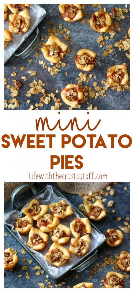 Mini Sweet Potato Pies, yum (1)